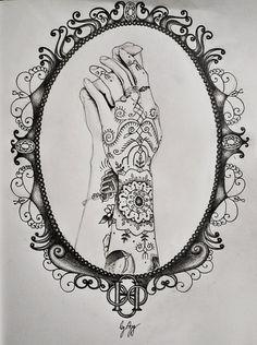 Hannah Snowdon's hands by mrsxbenzedrine on DeviantArt