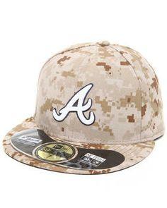 Love this Atlanta Braves Memorial Day Marine Camo 5950 fi... on DrJays. fbe4632e01bd