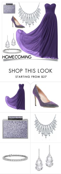 """""""Blink blink purple"""" by harrariz ❤ liked on Polyvore featuring Remedios, SJP, BeckSöndergaard, Bling Jewelry, Blue Nile and Plukka"""