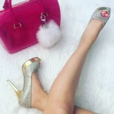   Enzo Angiolini   Silver & Gold Heel Minor scuffs pictured, true to size. Enzo Angiolini Shoes Heels