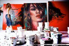 J aime beaucoup les créations de Corno Pop Art, Colorful Paintings, Canadian Artists, Korn, Heart Art, Artist At Work, Creations, Photos, Abstract