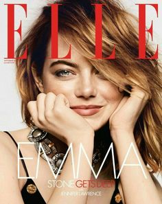 Emma Stone in Louis Vuitton photographed by Ben Hassett for Elle US September 2018 Urban Fashion, Trendy Fashion, Fashion Tips, Best Fashion Magazines, Glamour Photo Shoot, Elle Us, Fashion Model Poses, Elle Magazine, Magazine Covers