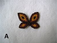 Irie-artigianato e molto altro ancora: COME FARE UNA FARFALLA Macrame  tutorial farfalla a macramè