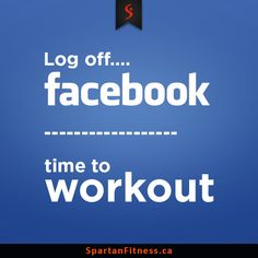 Time to workout guys, log off...for now at least. #Workout #Weights #Multigym #SpartanFitness #Canada