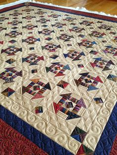 Quilts ~ Pam Buda: Every Little Bit ~ American Patchwork & Quilting Magazine!Heartspun Quilts ~ Pam Buda: Every Little Bit ~ American Patchwork & Quilting Magazine! Scrappy Quilts, Mini Quilts, Longarm Quilting, Free Motion Quilting, American Patchwork And Quilting, Modern Quilting, Churn Dash Quilt, Quilts Online, History Of Quilting