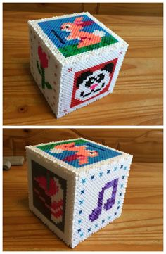 Perler Bead Money Bank