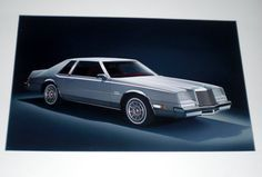 Really cool lithograph for the 1982 Chrysler Imperial advertising campaign that I purchased on eBay.