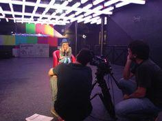 """Making of do primeiro episódio do reality show """"Papito in Love"""", com Supla, para a nova MTV. (2013)"""