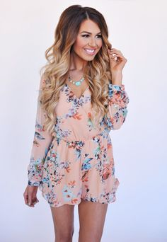 f97ae4c12e2 Dying for a long sleeve romper - floral or solid color