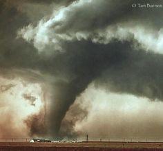 May tornado near Dodge City Kansas.