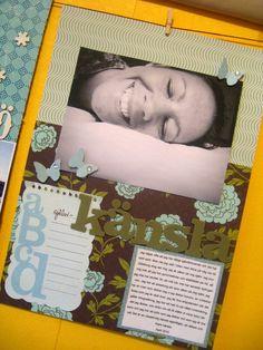 Lisa Ottosson for Write.Click.Scrapbook.