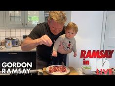 Gordon Ramsay Has The Perfect Ten-Minute Lamb Chop Dinner Recipe Gordon Ramsay Shows, Chef Gordon Ramsay, Gorden Ramsey, Chefs, Lamb Sauce, Lamb Loin Chops, How To Cook Lamb, Lamb Chop Recipes, Chops Recipe