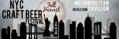 Preview: NYC Craft Beer Festival Fall Harvest at the Metropolitan Pavilion