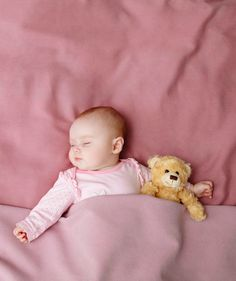 Baby girl sleeping in bed | Parenting website BabyCenter just released their list.