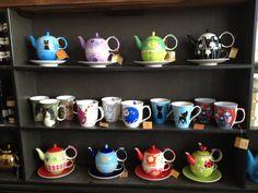 "Our tea shop in ""kødbyen"""