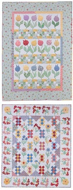 Quilts from Quilting Those Flirty '30s