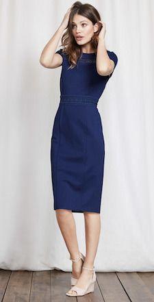 Wednesday's Workwear Report: Hera Ponte Dress - Corporette.com