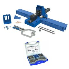 The Kreg Jig K5 Master System combines the Kreg Jig K5 with premium accessories to make it even easier to get started building with Kreg Joinery. Accessories include an Automaxx Face Clamp with 3' rea