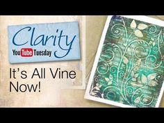 Gelli Plate How To - It's All Vine Now - YouTube Such a beautiful technique,  I  can't wait to try!