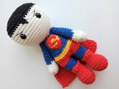 Wonder Woman Batman Superman Flash Aquaman Crochet superhero
