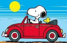 Snoopy + Woodstock + VW = HAPPY!