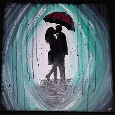 Check out this item in my Etsy shop https://www.etsy.com/listing/267204448/under-the-umbrella-acrylic-painting