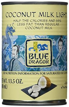 Blue Dragon Coconut Milk, Light, Ounces (Pack >>> Learn more by visiting the image link. Coconut Drinks, Coconut Water, Coconut Milk, Blue Dragon, Coconut Cream, Image Link, Packing, Learning, Store