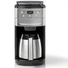Cuisinart DGB900BCU Grind & Brew Plus Coffee Maker ($185) ❤ liked on Polyvore featuring home, kitchen & dining and small appliances