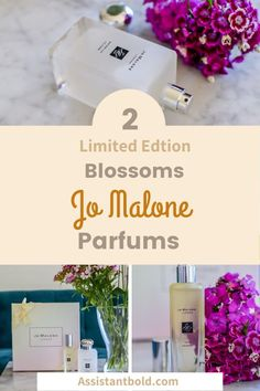 """The Limited Edition """"Blossoms"""" brings summer to my bathroom shelf. I would like to introduce you to the two fragrances Yuzu and Waterlilly. #beauty #fragrance #perfume #scent #jomalone"""