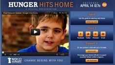 In a new cause-related documentary, HUNGER HITS HOME, audiences will get a first-hand look at the crisis of childhood hunger in America. Narrated by Jeff Bridges, the film is part of an ongoing partnership between Food Network and Share Our Strength.