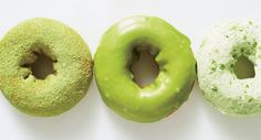 Not obsessed with matcha yet? These doughnuts will do the trick.
