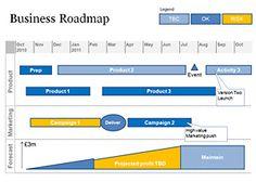 Flat Blurred Roadmap PowerPoint Timeline | Simple, Professional ...
