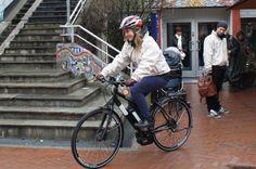 PROSJEKT: Gjennom et eget el-sykkelprosjekt er målet å få flere til å velge bort bilen som transportmiddel.  (Foto: FRAMTIDEN I VÅRE HENDER)