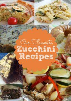 More than 30 fabulous Zucchini Recipes.