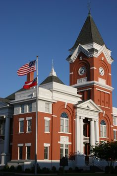 Bulloch County Courthouse In Statesboro Georgia