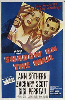 1950 Noir film-Shadow on the wall poster.jpg