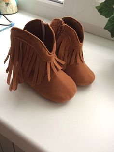 1be266ea533 Terrific Moccasin Moccs Newborn Baby Boots Baby shoes