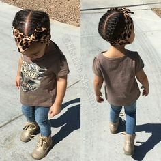 toddler cornrows