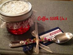 Beaded Spoons by Coffee With Us 3 / Great as favors or as place setting markers at a wedding #crafts #parties