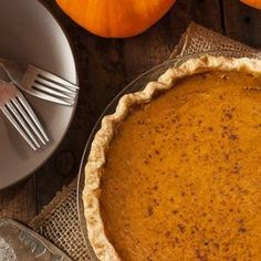Bourbon Pumpkin Pie | STL Cooks