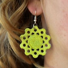For just pennies, learn how to create durable earrings to match any outfit out of PAPER! Full step by step photo tutorial. Great for kids!