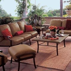 San Lucia Outdoor Patio Furniture Seating Sets Pieces Patio
