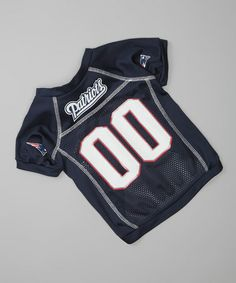 Take a look at this New England Patriots Pet Jersey by Hunter on #zulily today!