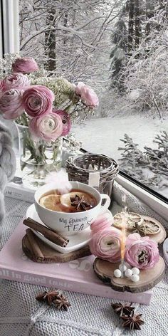 Morning Coffee Images, Good Morning Coffee Gif, Good Morning Images Flowers, Good Morning Roses, Beautiful Gif, Beautiful Flowers, Good Morning Animation, Happy Birthday Flower, Good Morning Greetings