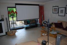 beamer | Wohnzimmer | Pinterest | TVs