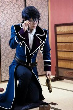 Munakata Reishi (by Reika) | K Project #anime #cosplay - COSPLAY IS BAEEE!!! Tap the pin now to grab yourself some BAE Cosplay leggings and shirts! From super hero fitness leggings, super hero fitness shirts, and so much more that wil make you say YASSS!!!