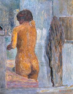 Pierre Bonnard: Bathing Woman, Seen from the Back, c.1919.