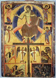 Guido da Siena e aiuti - Giudizio finale - 1280 circa - tempera su tavola - Grosseto, Museo archeologico e d'arte della Maremma