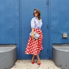"""Lady like today before @poloralphlauren presentation ❤️ #lovelypepa #style #nyfw #nyc"""
