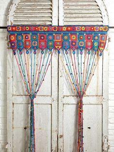 Patrón de cortina con cuentas de Ravelry por Emma Leith - #Con #Cortina #cuentas #de #Emma #Leith #Patrón #por #Ravelry
